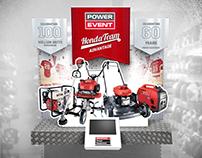 Honda Power Event Display Signage