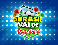O Brasil vai de Refreskant