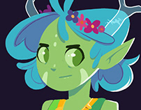 Evora (character design)