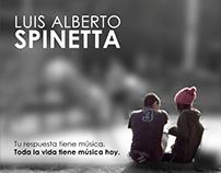 2017 - Afiche Spinetta . Diseño Gráfico II - FADU