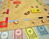 Limited Edition Modern Monopoly Board