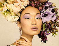 Harper's Bazaar: Death to the Flower Crown