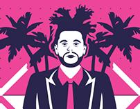 Palm Trees Concept Album Cover
