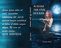 Novel cover #across_the_five_oceans 🌒🌓🌔🌕🌖🌗🌘