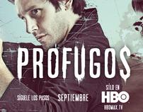 HBO PROFUGOS / KeyArts