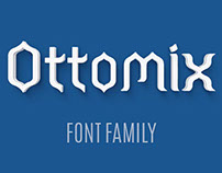 OTTOMIX TYPEFACE FAMILY