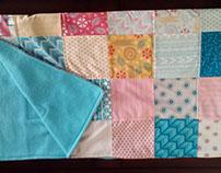 'Bright Sun' Handmade Baby Quilt