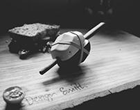 Saddle-Back Shaker - Ceramic Salt and Pepper Shaker