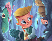 Henry and the Hidden Treasure-children's Book