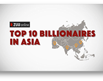 Videographic - Top 10 Billionaires in Asia