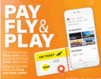 Dragonpay's PAY FLY & PLAY (With Scoot and Klook)