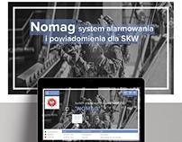 "System alarmowania i powiadomienia ""NOMAG"""