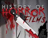 History of horror films Poster