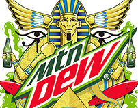 Mountain Dew Illustrations