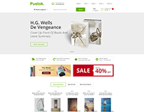 Pustok - Book Store HTML Template