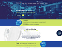 Client Website Redesign - Climate AC
