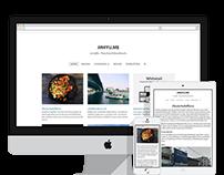 Whitetail, Free responsive WordPress theme