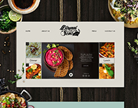 Website Design | Biryani of the Seas
