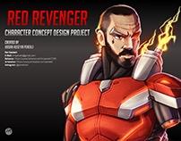Red Revenger- Character Concept Design