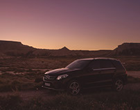 Mercedes-Benz GLE 350 - dark desert