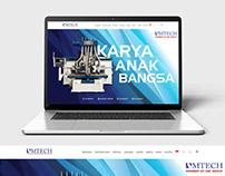 Amtech Website Design