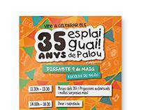 35 anys · Esplai Guai! de Palou