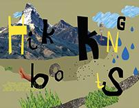 Illustration - hikking boots