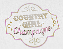 Champagne Bottle Logo
