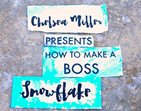 How to make A Boss Snowflake, in stop motion
