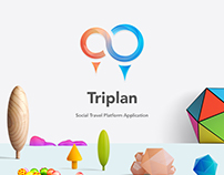 Triplan - Social Travel Platform Application UI Kit