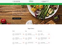 Vegan Restaurant Mockup