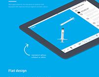 Web application Eligard / against prostate cancer