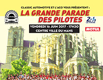 "Poster for ""La Grande Parade Des Pilotes 2017"""