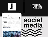 La quinta bar - Social Media.
