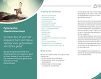 Flyers Fysiocentre Haarlemmermeer