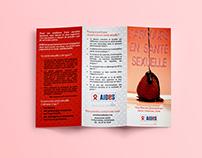 Trifold leaflet - AIDES Rhône - Alpes