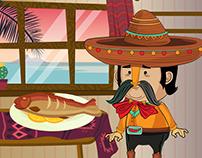 Cactus Sushi Animation