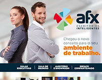 Anúncio AFX Escritório Inteligentes