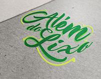 Logo and Hotsite - Além do lixo