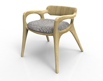 Akar - Arm Chair