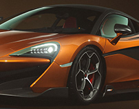 McLaren 600LT - CGI specs and colors