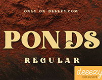FREE Font - Ponds Regular