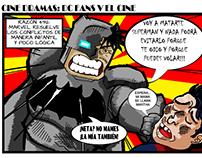 DC Fans V El Cine