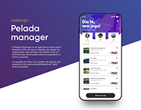 Pelada manager - UX/UI