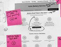 IMC* Website Content Strategy & Design