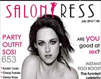 Salon Tress Magazine cover