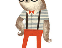 Hipster Sloth