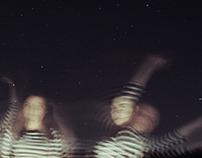 by | night