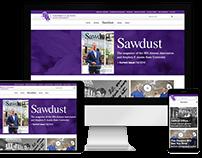 Sawdust Magazine Website