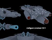 Railgun cruizer (updated)